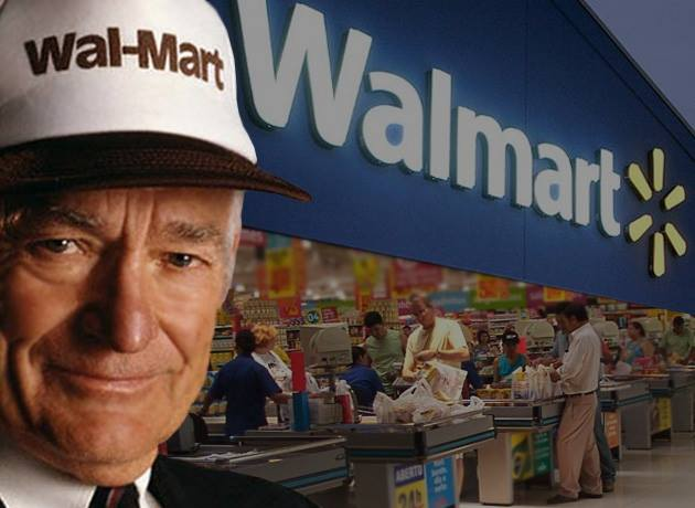 a biography of sam walton the founder of wal mart Wal-mart, the world's top retail store wasn't always so big sam walton, the founder of wal-mart saw the opportunity to open a business and later.