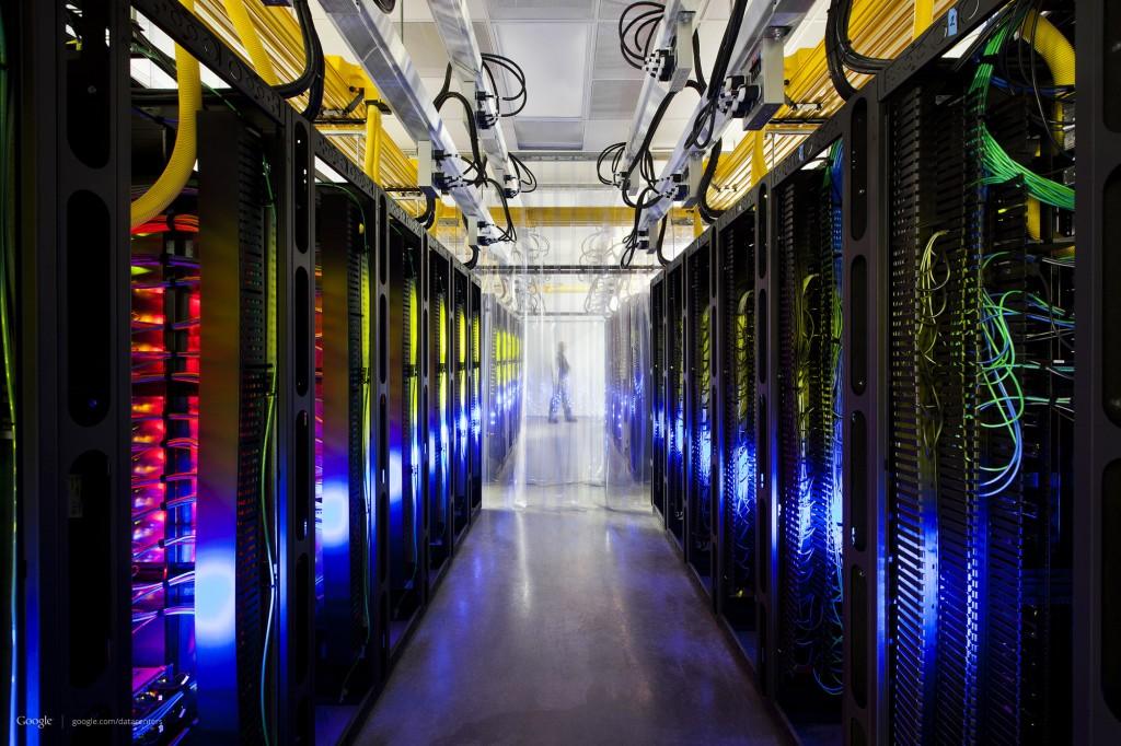 Ilustração de um Datacenter do Google